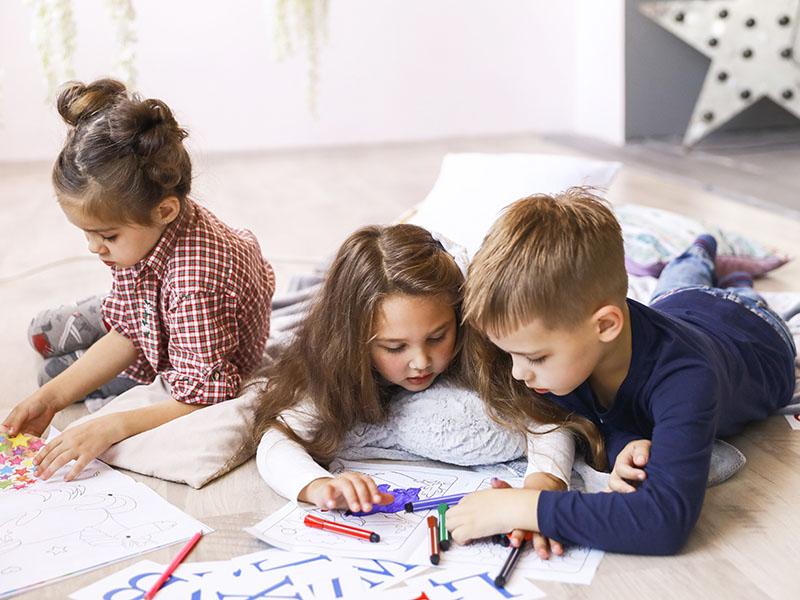 Karantina için Çocuk Etkinlikleri